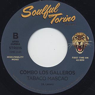 Federico Y Su Combo Latino / Gato Negro c/w Combo Los Galleros / Tabaco Mascao back
