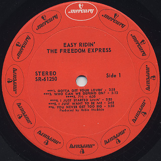 Freedom Express / Easy Ridin' label