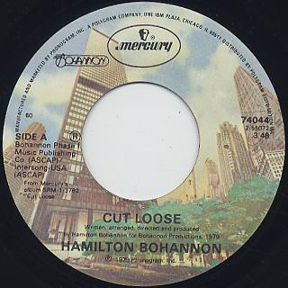 Hamilton Bohannon Cut Loose - The Beat
