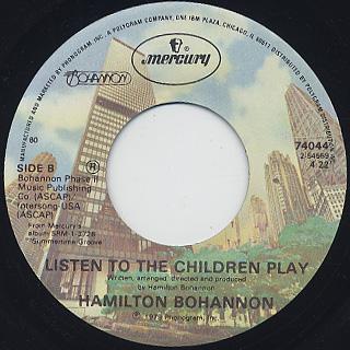 Hamilton Bohannon / Cut Loose back