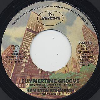 Hamilton Bohannon / Summertime Groove
