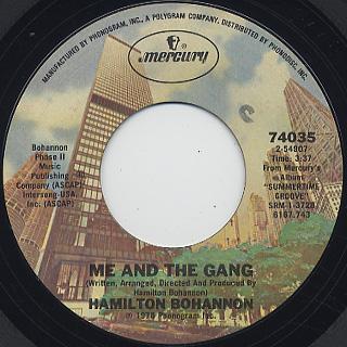 Hamilton Bohannon / Summertime Groove back