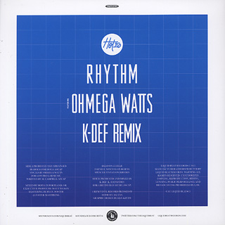 Hot16 / Rhythm c/w Rhythm (K-Def Remix) back