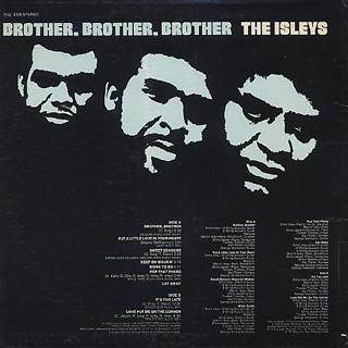 Isley Brothers / Brother, Brother, Brother back