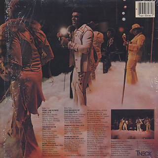 Isley Brothers / The Heat Is On back
