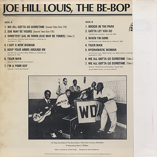 Joe Hill Louis / The Be-Bop Boy back