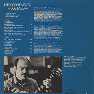 Joe Pass / Intercontinental back