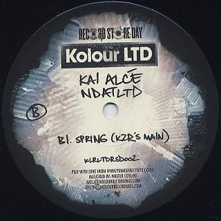 Kai Alce / NDALTD back