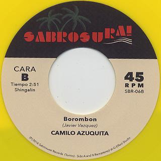 Los Superiores / Mujer Traicionera c/w Camilo Azuquita / Borombon back