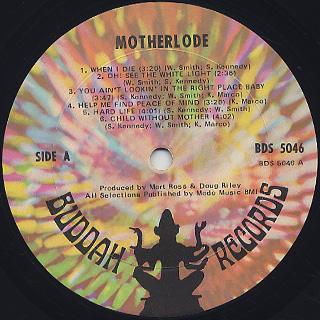 Motherlode / When I Die label