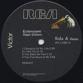 Ralph Graham / Extensions label