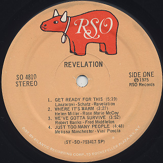 Revelation / S.T. label