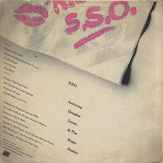 S.S.O. / Tonight's The Night back