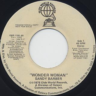 Sandy Barber / Wonder Woman