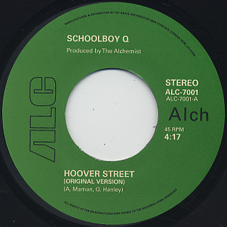 Schoolboy Q / Hoover Street c/w Inst.
