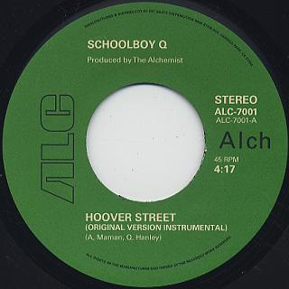 Schoolboy Q / Hoover Street c/w Inst. back
