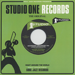 Skatalites / Original Ska Sounds From The Skatalites 1963-65 label