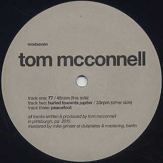 Tom Mcconnell / Modseven label