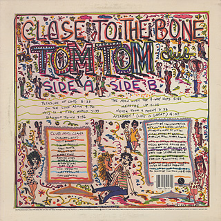 Tom Tom Club / Close To The Bone back