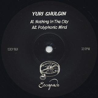 Yuri Shulgin / Polyphonic Mind label