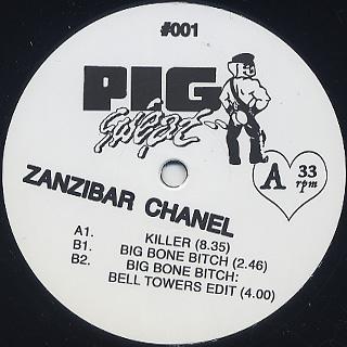Zanzibar Chanel / Big Bone Bitch label