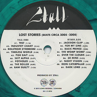 2Tall / Lost Stories label
