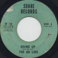 Ad libs / Giving Up