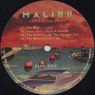 Anderson .Paak / Malibu label