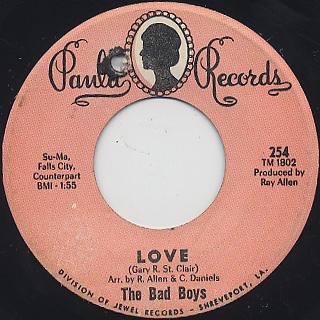 Bad Boys / Love c/w Black Olives
