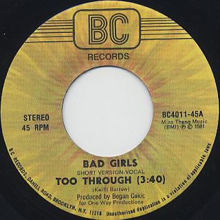 Bad Girls / Too Through