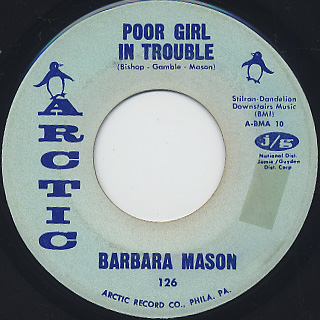 Barbara Mason / Poor Girl In Trouble c/w Hello Baby