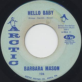 Barbara Mason / Poor Girl In Trouble c/w Hello Baby back