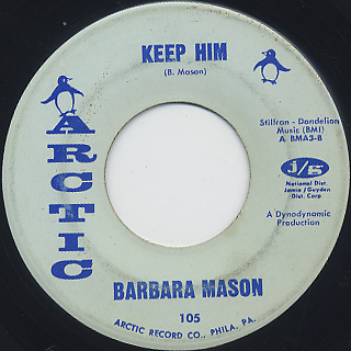 Barbara Mason / Yes I'm Ready c/w Keep Him back