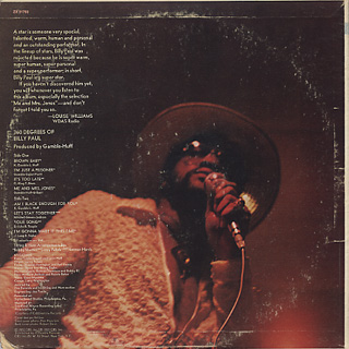 Billy Paul / 360 Degrees Of Billy Paul back