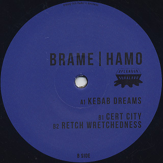 Brame & Hamo / Kebab Dreams EP back