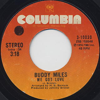 Buddy Miles / We Got Love