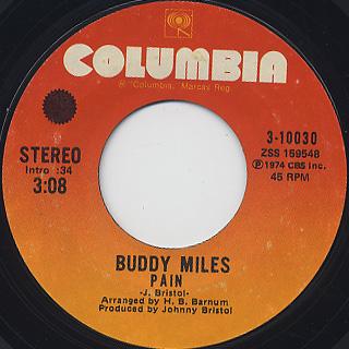 Buddy Miles / We Got Love back