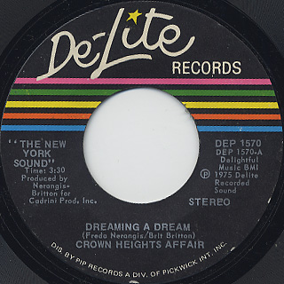 Crown Heights Affair / Dreaming A Dream (45)