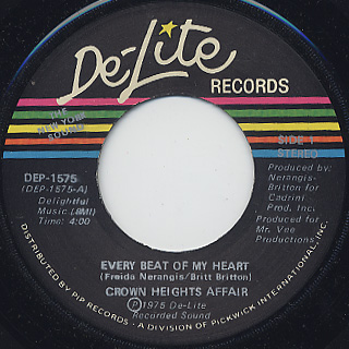 Crown Heights Affair / Every Beat Of My Heart