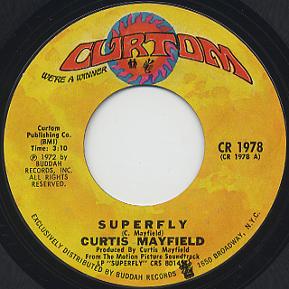 Curtis Mayfield / Super Fly (45)