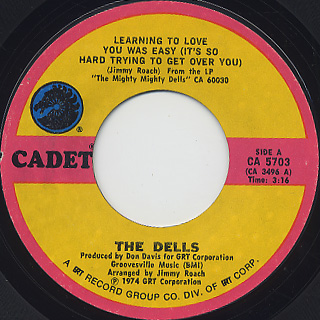 Dells / Learning To Love You Was Easy c/w Bring Back The Love Of Yesterday
