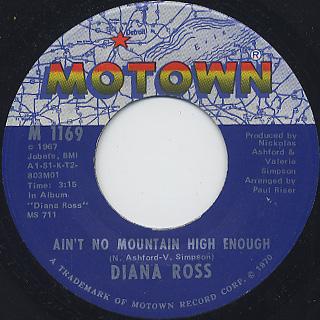 Diana Ross / Ain't No Mountain High Enough