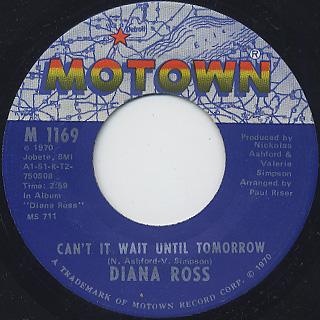 Diana Ross / Ain't No Mountain High Enough back