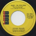 Esther Phillips / Baby, I'm For Real c/w That's All Right With Me