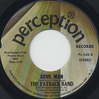 The Fatback Band - Njia (Nija) Walk (Street Walk) / Soul Man