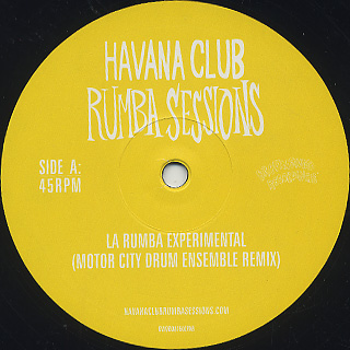 Gilles Peterson's / Havana Cultura Club Rumba Sessions Part One label