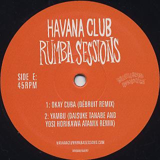 Gilles Peterson's / Havana Cultura Club Rumba Sessions Part Three label