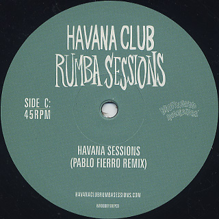 Gilles Peterson's / Havana Cultura Club Rumba Sessions Part Two label