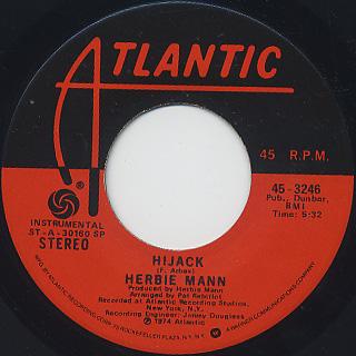 Herbie Mann / Hijack