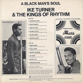 Ike Turner And The Kings Of Rhythm / A Black Man's Soul back